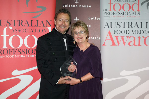 Stewart White Chairman Austraoian Food Media Awards